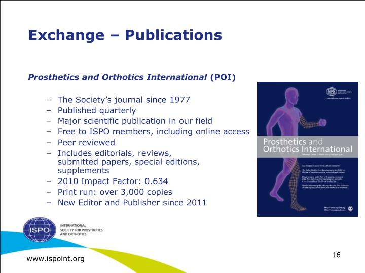 Exchange – Publications