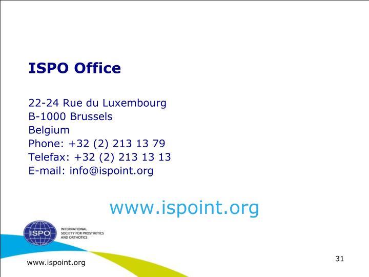 ISPO Office