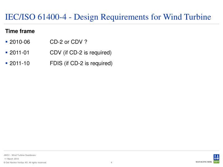 IEC/ISO 61400-4
