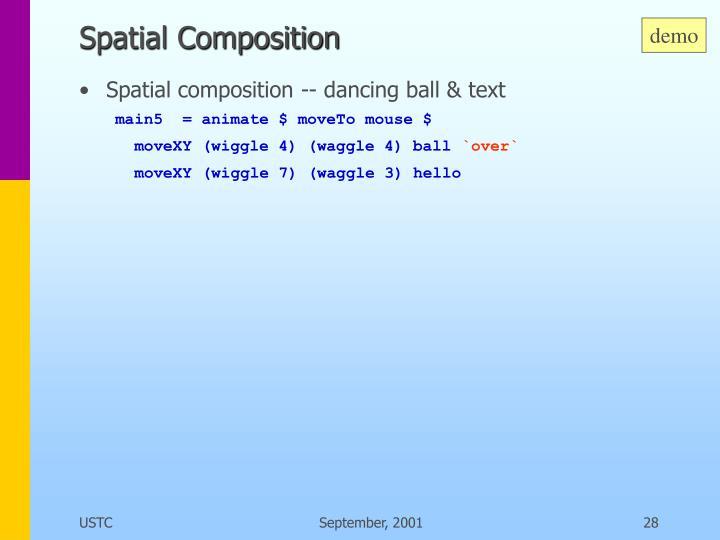 Spatial Composition