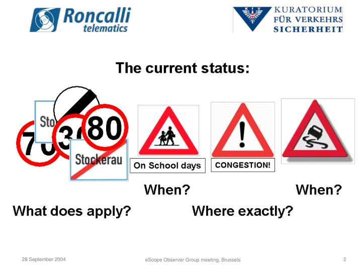 New approaches in austria the roncalli project thomas fessl