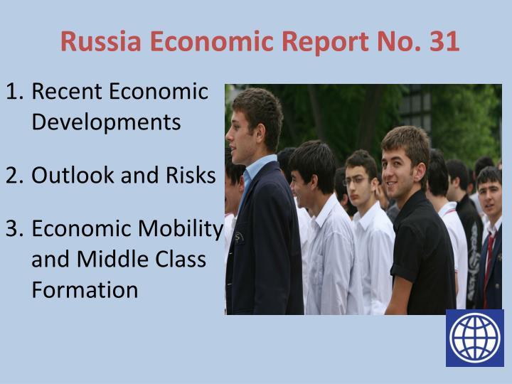 Russia economic report no 31