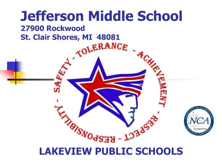 jefferson middle school 27900 rockwood st clair shores mi 48081 n.