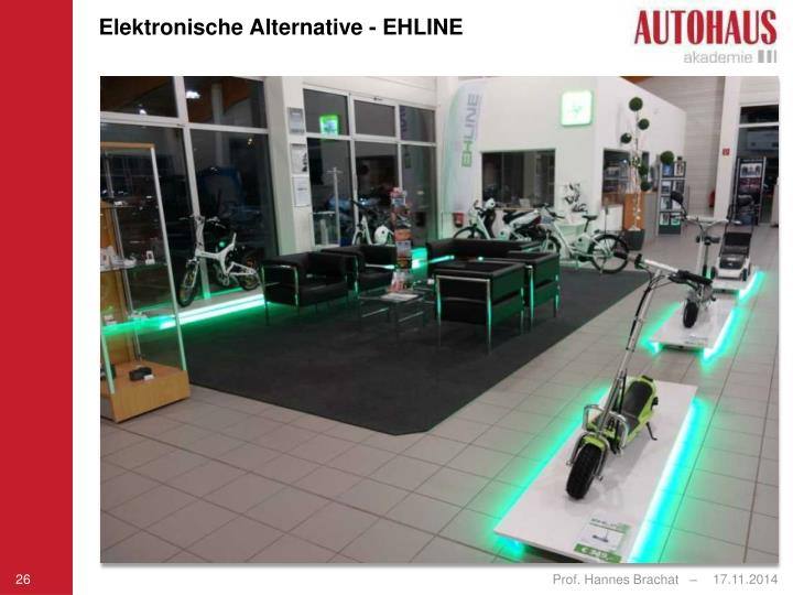 Elektronische Alternative - EHLINE