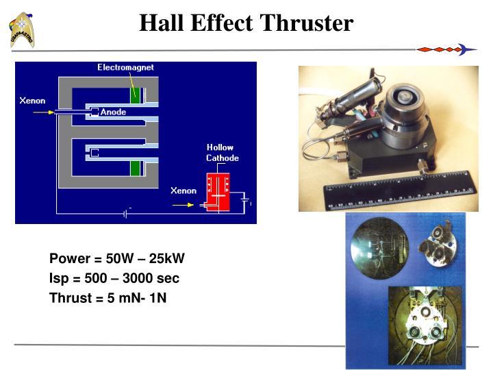 Hall Effect Thruster