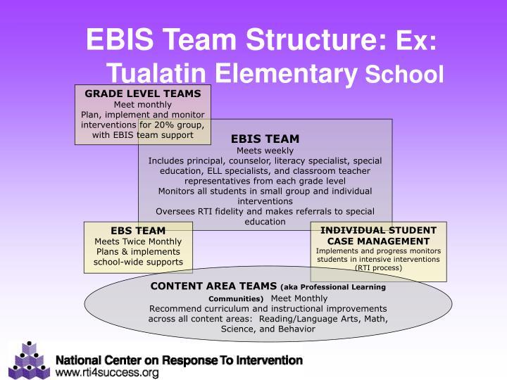 EBIS Team Structure:
