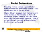 fouled surface area1