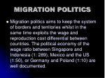 migration politics
