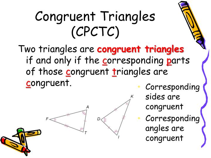 Congruent Triangles (CPCTC)