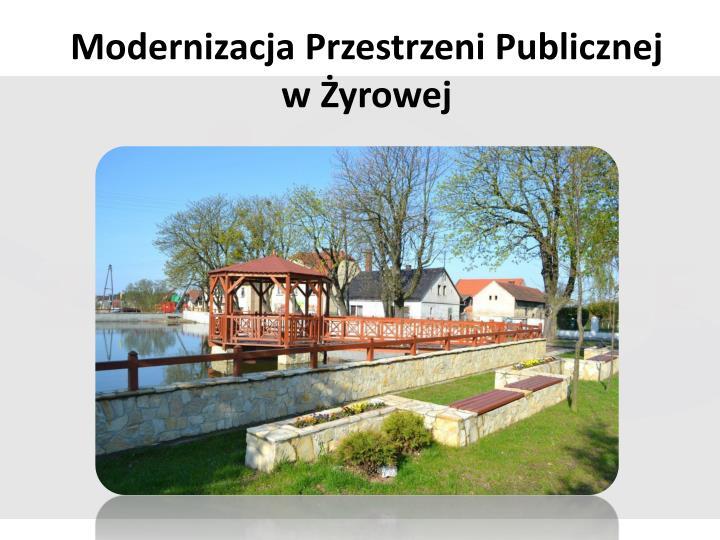 Modernizacja Przestrzeni Publicznej