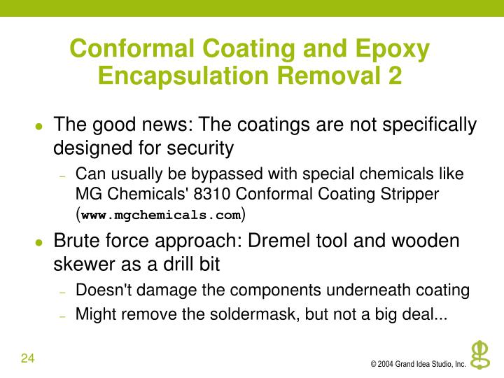 Conformal Coating and Epoxy Encapsulation Removal 2