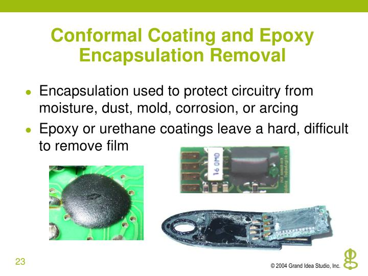 Conformal Coating and Epoxy Encapsulation Removal
