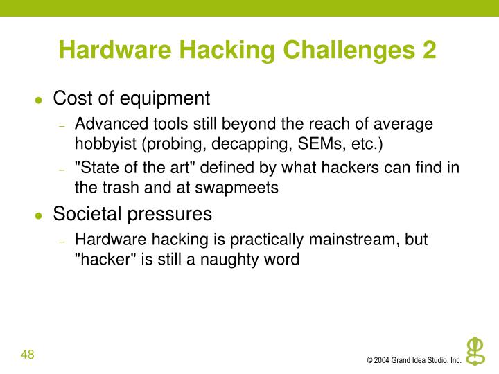 Hardware Hacking Challenges 2