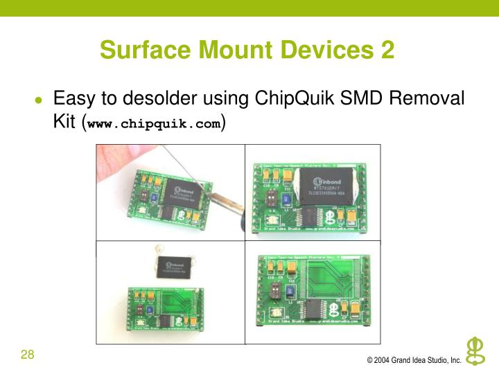 Surface Mount Devices 2