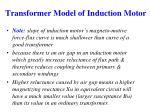 transformer model of induction motor1