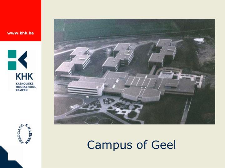 Campus of Geel