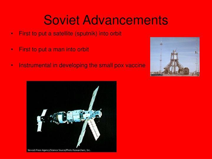 Soviet Advancements