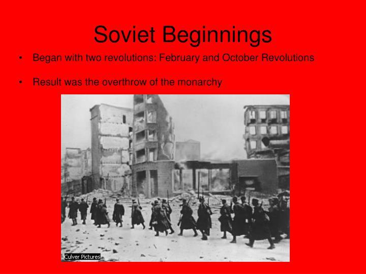 Soviet beginnings