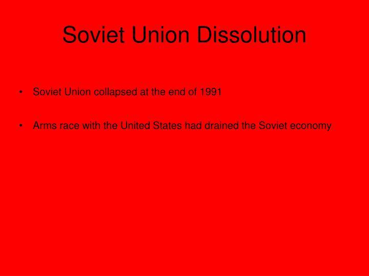 Soviet Union Dissolution