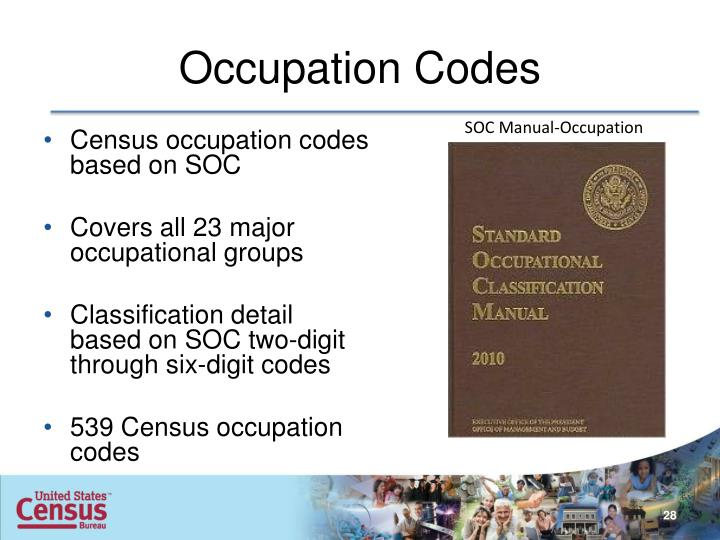 Occupation Codes