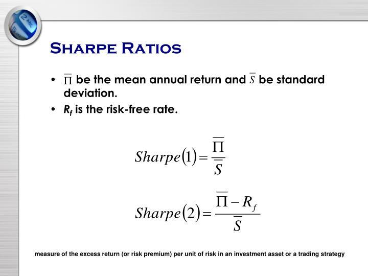 Sharpe Ratios