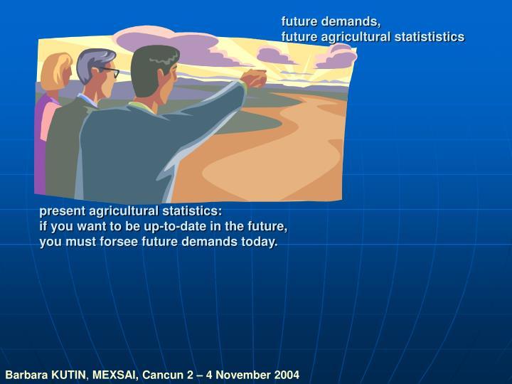 future demands,
