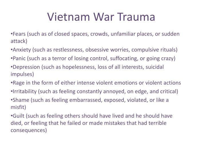 Vietnam War Trauma