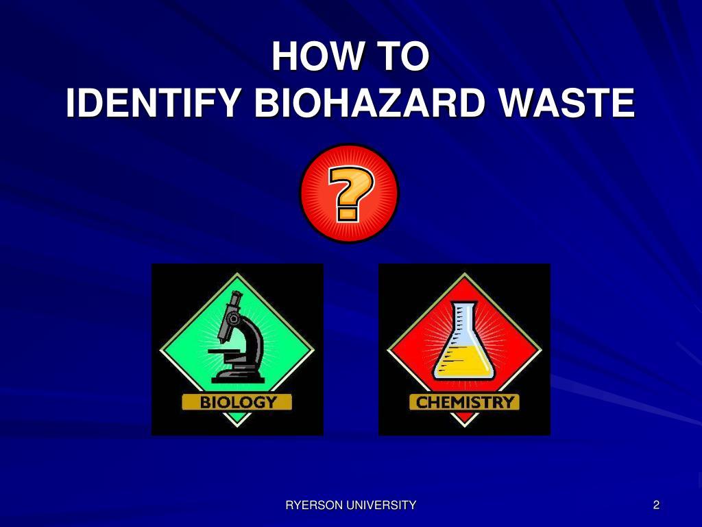 PPT - Biohazard Waste Disposal Training for Caretaking ...