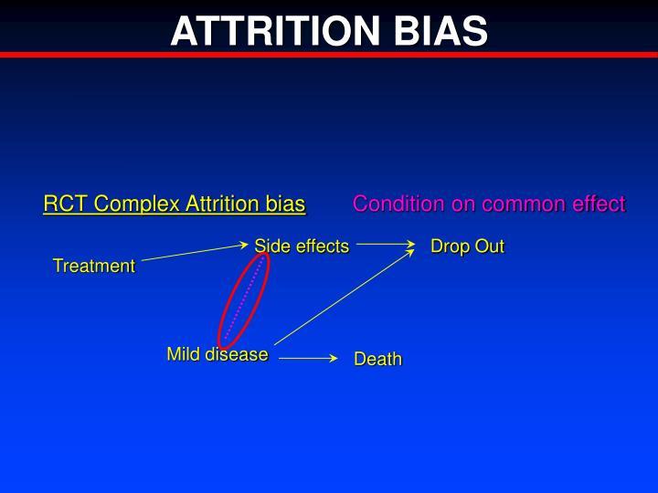 RCT Complex Attrition bias