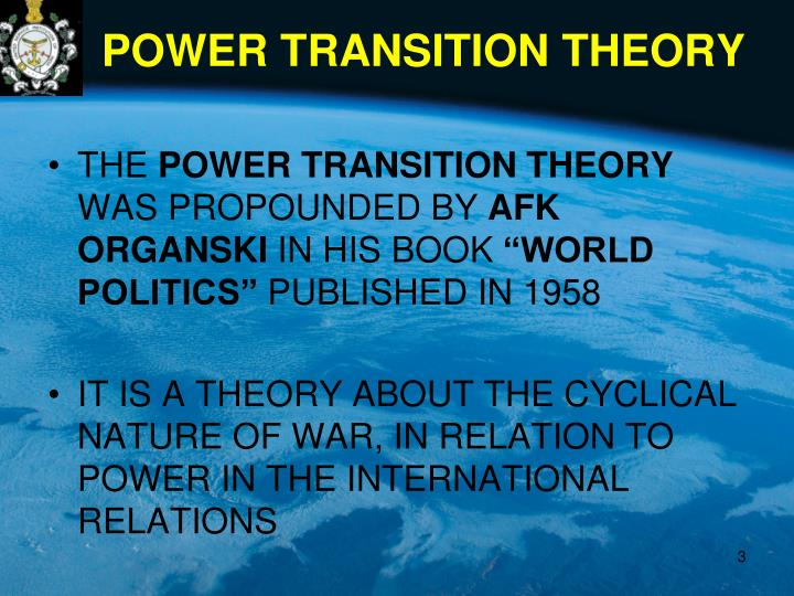 Power transition theory