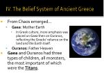 iv the belief system of ancient greece1