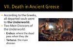 vii death in ancient greece