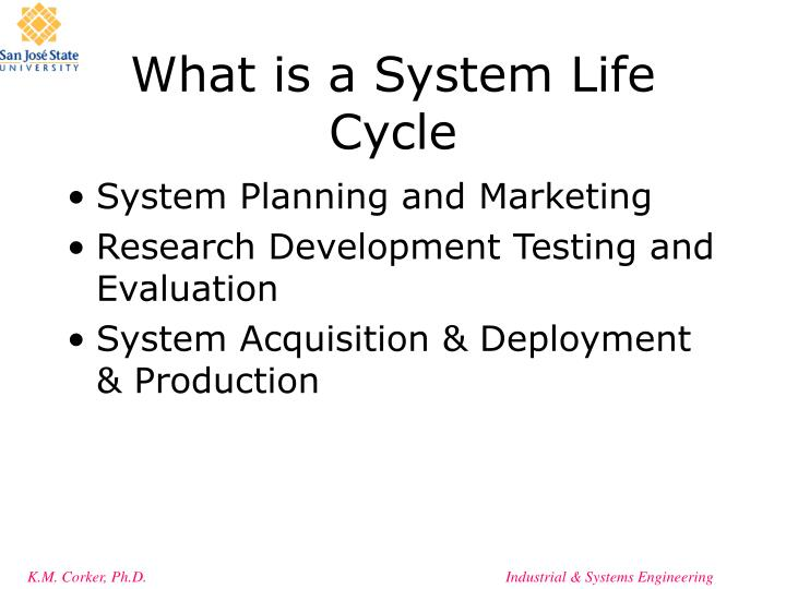What is a System Life Cycle