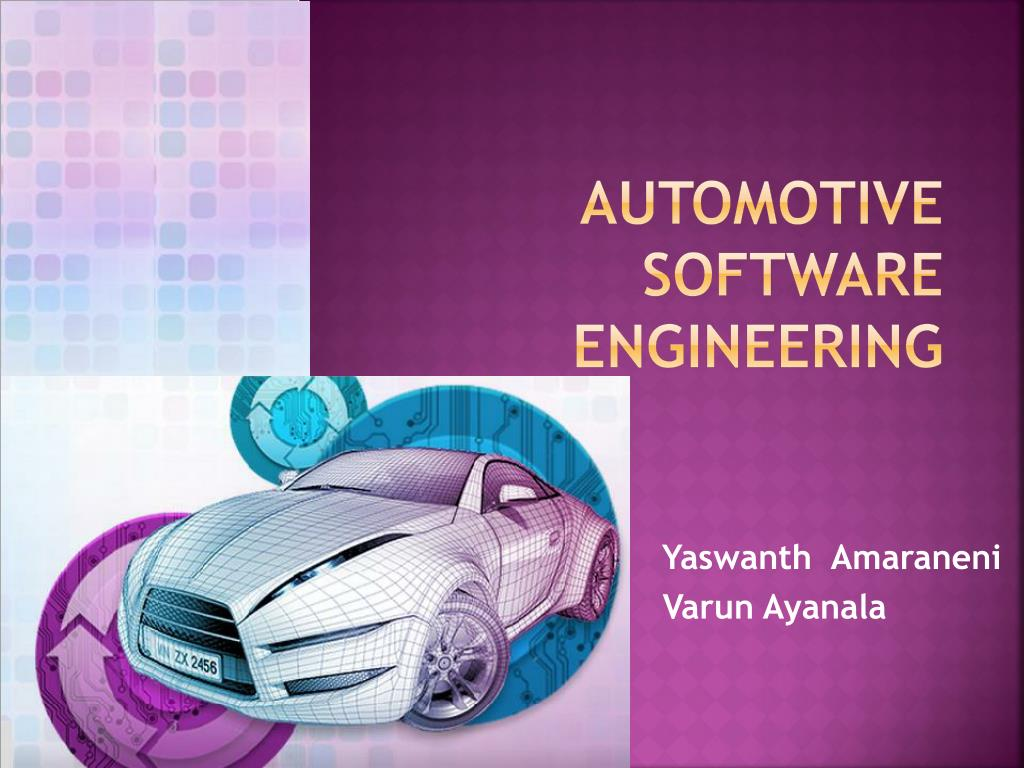 Ppt Automotive Software Engineering Powerpoint Presentation Free Download Id 6751283