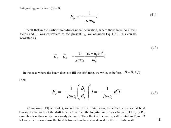 Integrating, and since i(0) = 0,