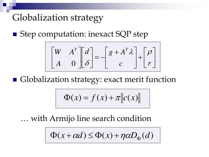 Globalization strategy
