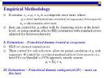 empirical methodology1