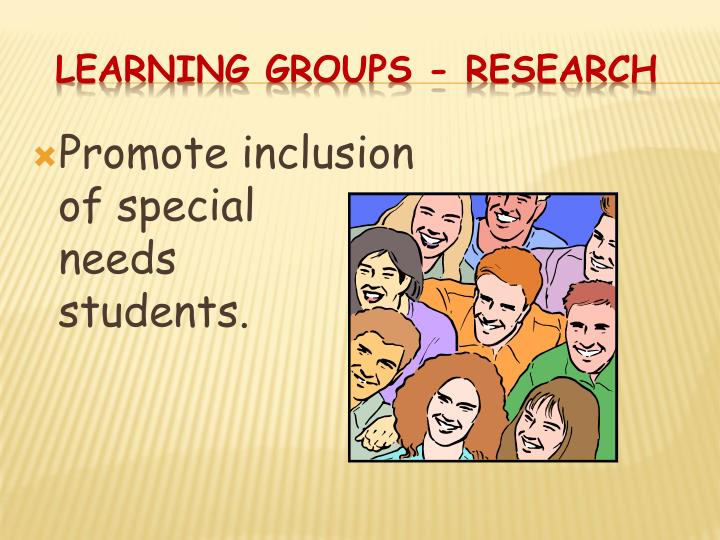 Learning Groups - Research