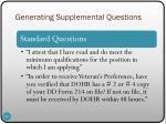 generating supplemental questions2