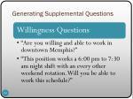 generating supplemental questions3
