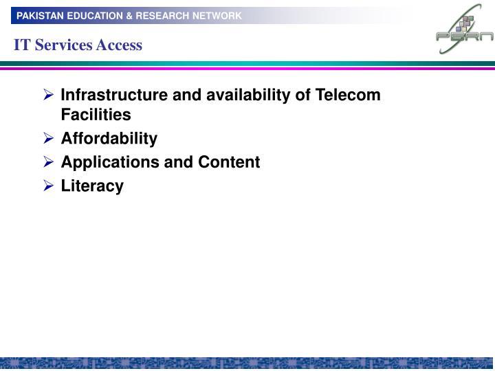 IT Services Access