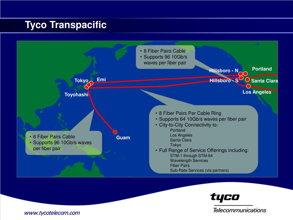 PPT - Network Services on theTyco Global Network – TGN