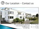 our location contact us