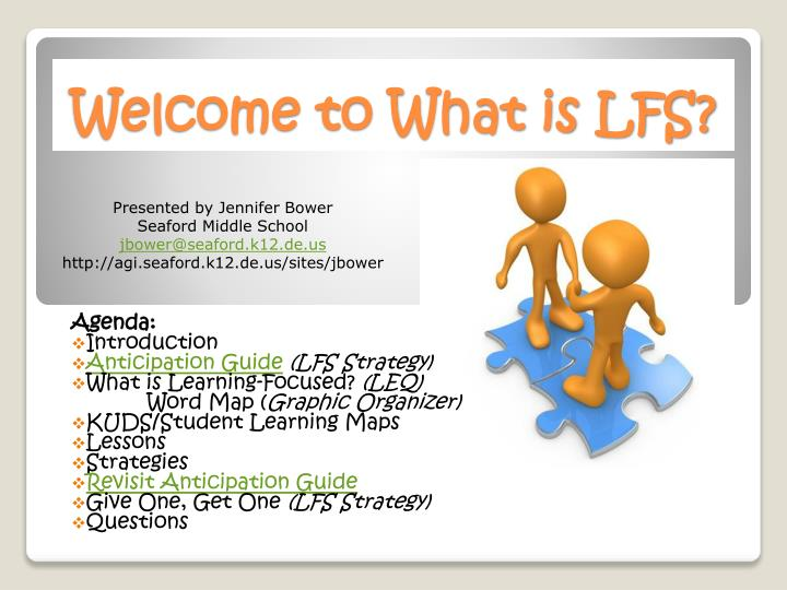 PPT - Welcome to What is LFS? PowerPoint Presentation, free ...