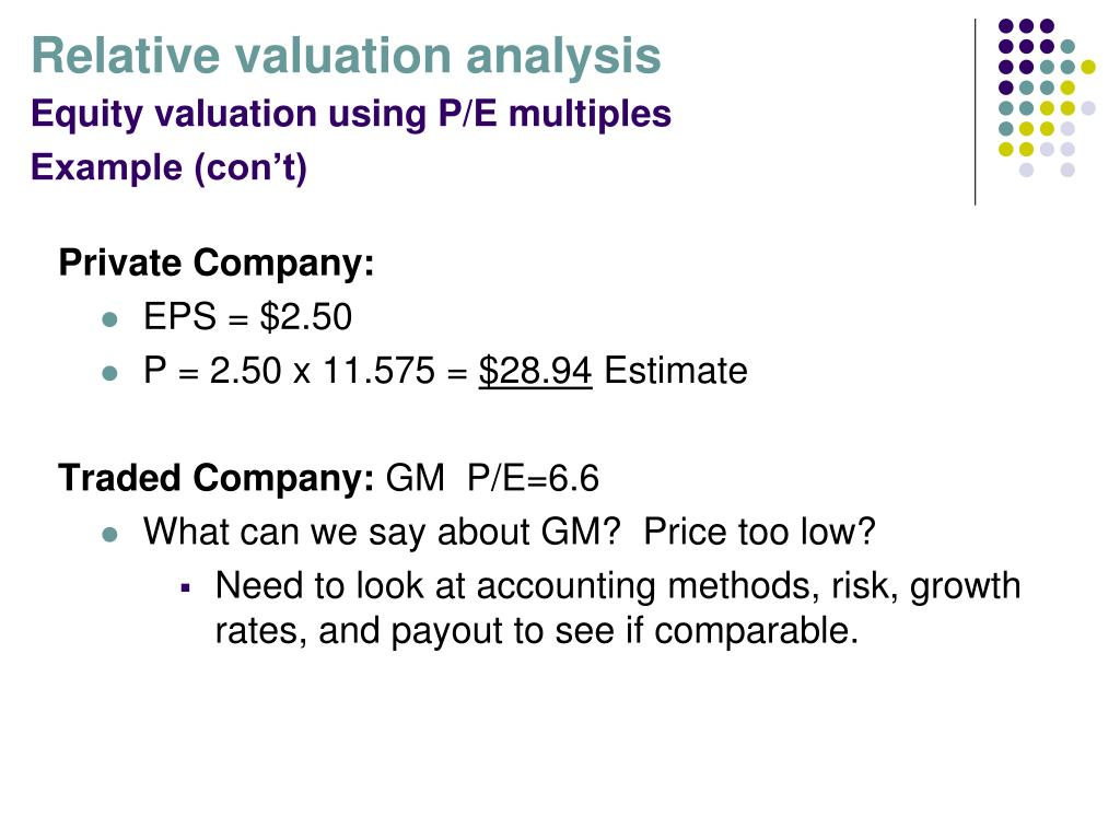 PPT - Corporate Valuation PowerPoint Presentation - ID:6753236