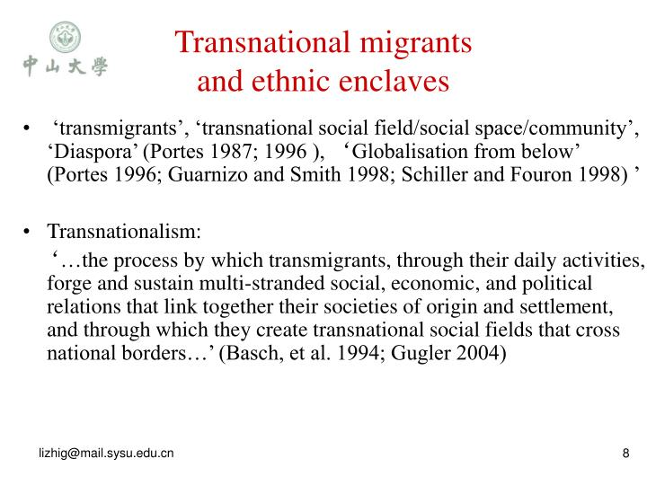 Transnational migrants