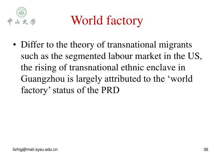 World factory