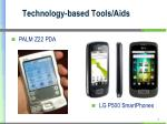 technology based tools aids