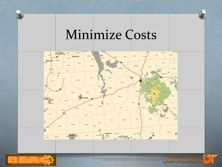 Minimize Costs