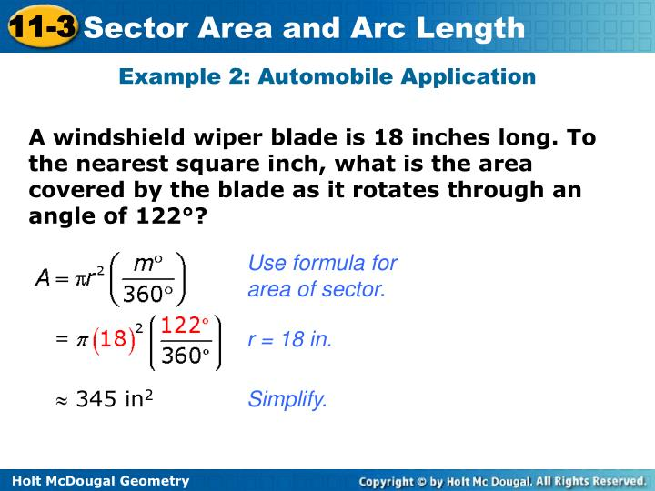 Example 2: Automobile Application
